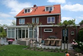 Aanbouw vrijstaande woning te Enschede