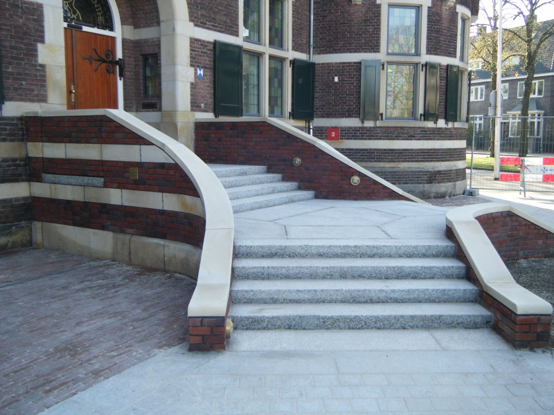 Renovatie trapopgang Rijksmuseum te Enschede