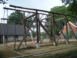 houten vakwerk